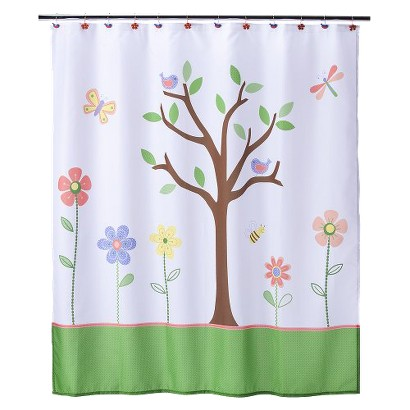 Butterfly Park Shower Curtain