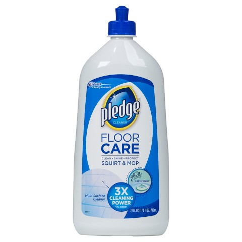 Pledge FloorCare Glade Rainshower Scent Multi-Surface Squirt & Mop Floor Cleaner 27 oz