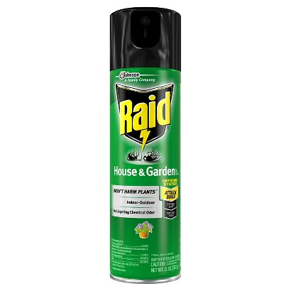 Raid House & Garden Bug Killer 11 oz