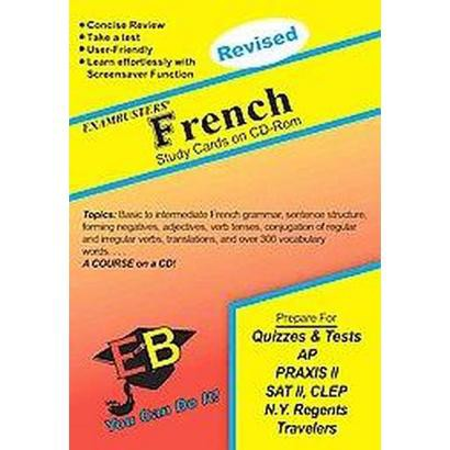 Exambusters French Study Cards (CD-ROM)