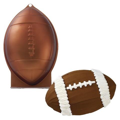 football shaped cake pan