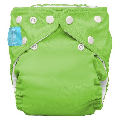 Charlie Banana Reusable Diaper 1 pack One Size - Apple Green