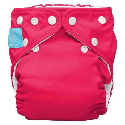 Charlie Banana Reusable Diaper 1 pack One Size - Hot Pink