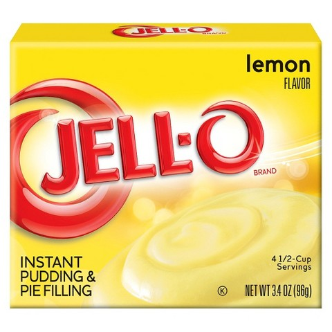 Jell-O Instant Lemon Pudding & Pie Filling 3.4 oz