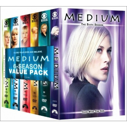 Medium: Seasons 1-6 (31 Discs)
