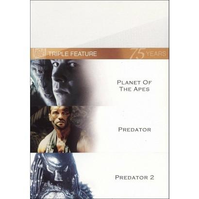Planet of the Apes/Predator/Predator 2 (3 Discs)