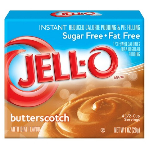 Jell-O Instant Sugar Free-Fat Free Butterscotch Pudding and Pie Filling 1 oz