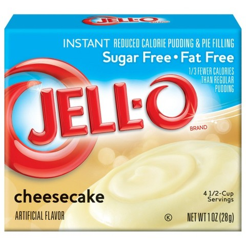 Jell-O Instant Sugar Free-Fat Free Cheesecake Pudding & Pie Filling 1 oz