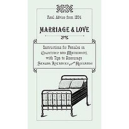 Marriage & Love (Hardcover)