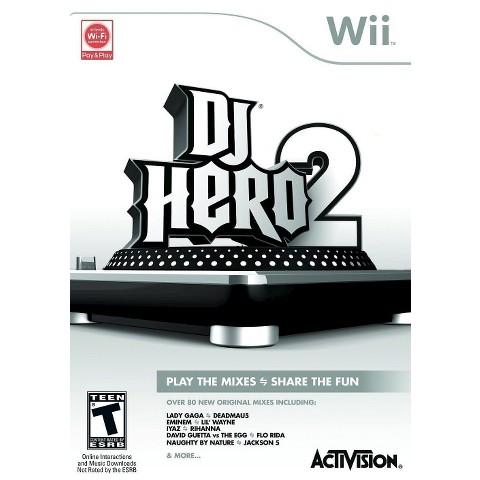 DJ Hero 2 (Nintendo Wii)
