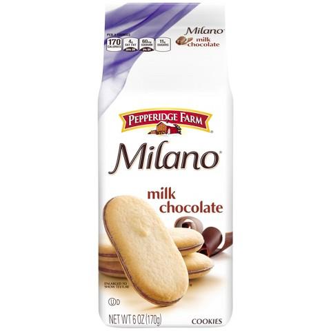 Pepperidge Farm® Milano Milk Chocolate Cookies - 6.25 oz