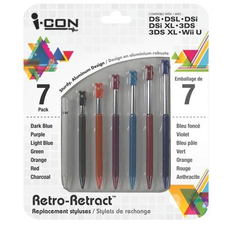 Icon DS/DSI Rainbow Stylus Pack (Nintendo DS/DSI)