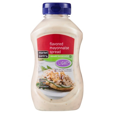 Market Pantry Light Wasabi Horseradish Mayonnaise 11.5 oz