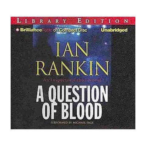 A Question of Blood (Unabridged) (Compact Disc)