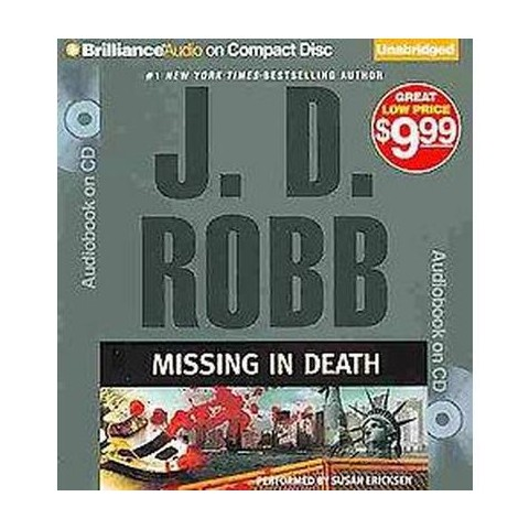Missing in Death (Unabridged) (Compact Disc)