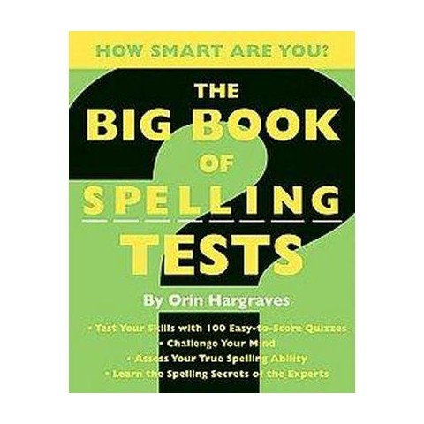 The Big Book of Spelling Tests (Paperback)