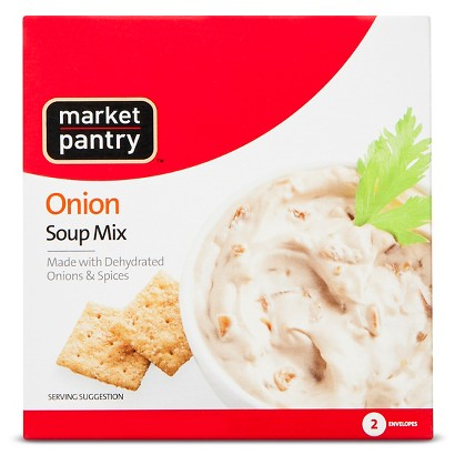 Market Pantry® Onion Soup & Dip Mix, 2 - 1 oz. Envelopes