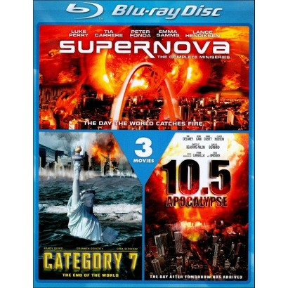 10.5 Apocalypse/Category 7: The End of the World/Supernova (Blu-ray) (Widescreen)