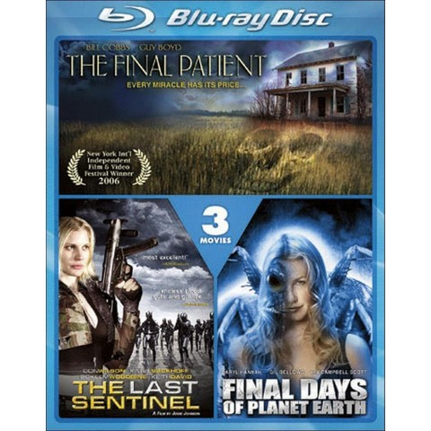 The Last Sentinel/Final Days of Planet Earth/The Final Patient (2 Discs) (Blu-ray) (Widescreen)