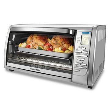 Hamilton beach stainless steel 6slice toaster oven 31511