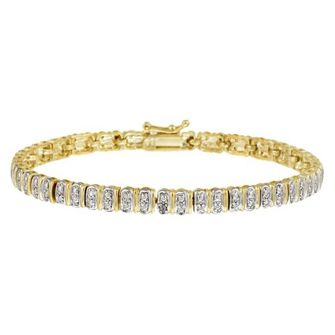 Eternity Bracelet - Gold ( 7.25 )