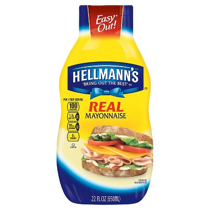 Hellmann's Real Squeeze Mayonnaise 22 oz