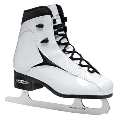 Roller Derby Lake Placid Viper Women's Figure Ice Skate - White