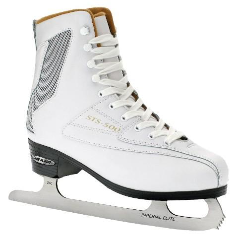 Lake Placid STS-500 Women's White Ice Skates