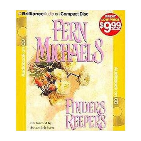 Finders Keepers (Abridged) (Compact Disc)