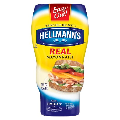 Hellmann's Real Squeeze Mayonnaise 9 oz