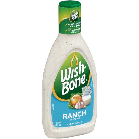 Wish-Bone Ranch Salad Dressing 16 oz