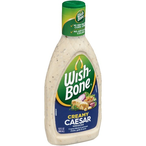 Wish-Bone Creamy Caesar Dressing 16 oz