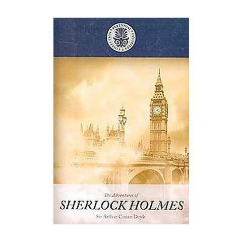 Adventures of Sherlock Holmes (Large Print) (Paperback)