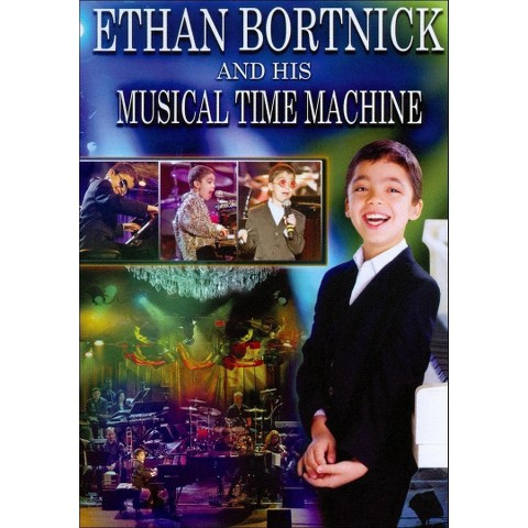 Ethan Bortnick and His Musical Time Machine (2 Discs) (DVD/CD)