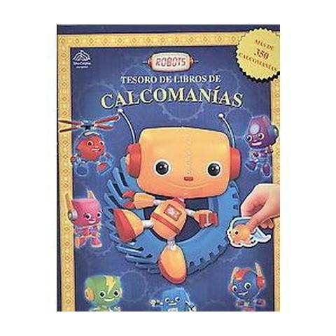 Robots ( Tesoro de libro de calcomanias) (Paperback)