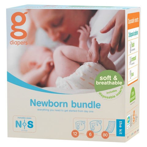 gDiapers gBaby Bundle for Newborn - Small