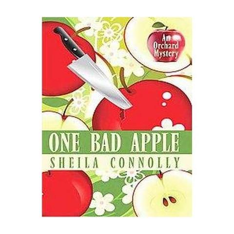 One Bad Apple (Large Print) (Paperback)