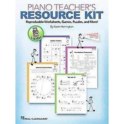 Piano Teacher Resource Kit (Paperback)
