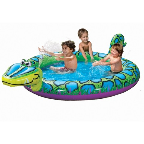 Banzai Spray N Splash Kids Snake Pool