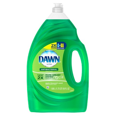 Dawn Ultra Dishwashing Liquid Anti Bacterial - Apple Blossom 56oz