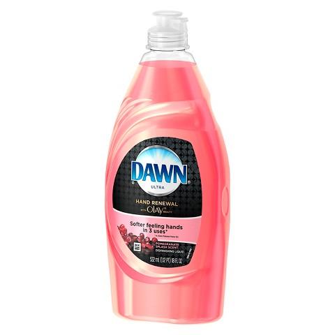 Dawn® Hand Renewal with Olay® Pomegranate Splash™ Dishwashing Liquid 18 Oz
