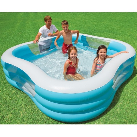 intex 90in kids family swimming pool target. Black Bedroom Furniture Sets. Home Design Ideas