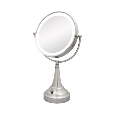 Lighted Vanity Mirror Target : Zadro Dual LED Lighted Vanity Mirror - 1X & 10X... : Target