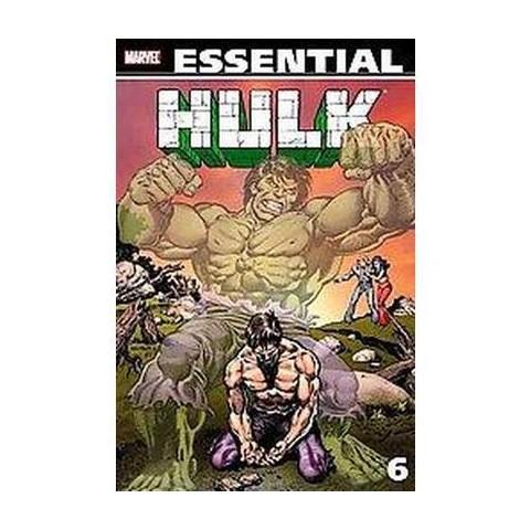 Essential Hulk 6 (Paperback)