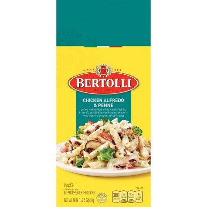 Bertolli Frozen Chicken Alfredo & Fettuccine Dinner 24 oz