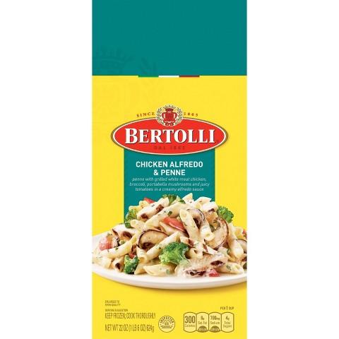 Bertolli Frozen Chicken Alfredo & Fettuccine Dinner 24 oz