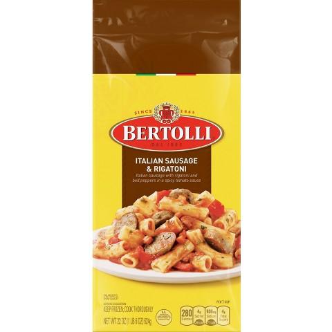 Bertolli Frozen Italian Sausage & Rigatoni Dinner 24 oz