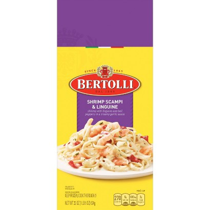 Bertolli Shrimp Scampi Linguine 24 oz