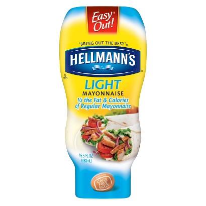 Hellmann's Light Squeeze Mayonnaise 16.5 oz