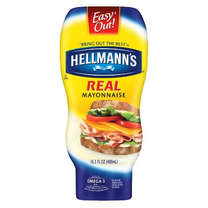 Hellmann's Real Squeeze Mayonnaise 16.5 oz